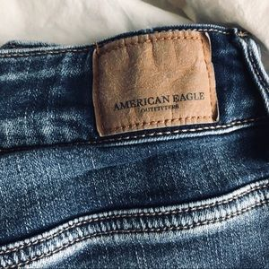 American Eagle Outfitters Shorts - American Eagle high rise destroyed denim shorts